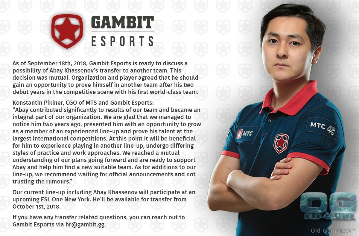 Gambit open to Hobbit transfer